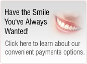 Southampton Dentist Dr Rhodes offers financing alternatives for dental costs